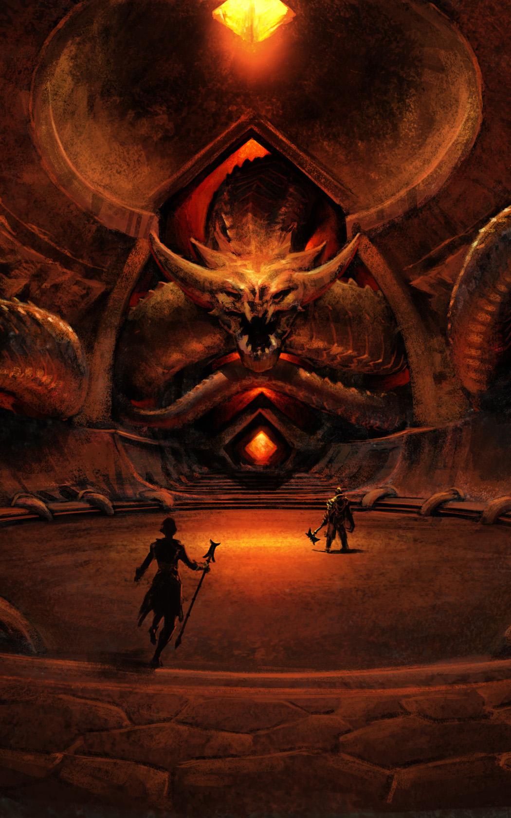 concept art - Dragon Isle
